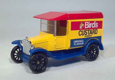 Matchbox 1921 Model T Ford Birds Custard Powder Die Cast Scale Model Truck
