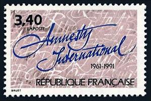 France 2268, MNH. Amnesty International, 30th anniv. 1991