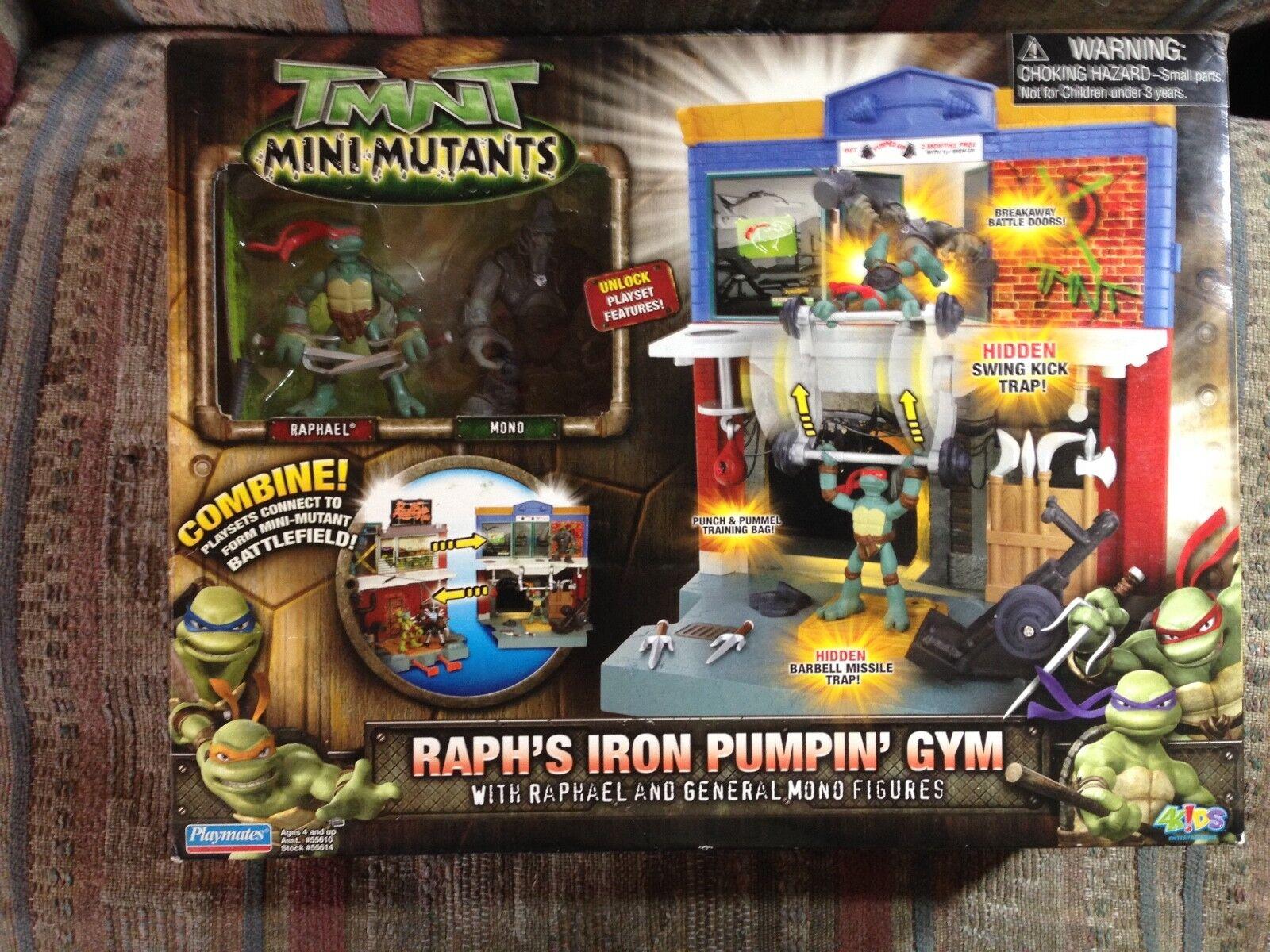 Ralph ist eisen pumpen tmnt fitnessraum mit raphael & general mono. 2007