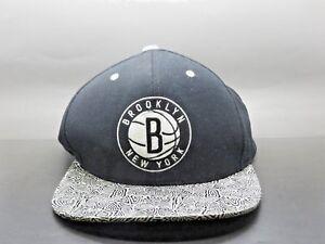 online retailer 4a3e9 025ac Image is loading Mitchell-amp-Ness-NBA-Brooklyn-Nets-Snapback-Black-