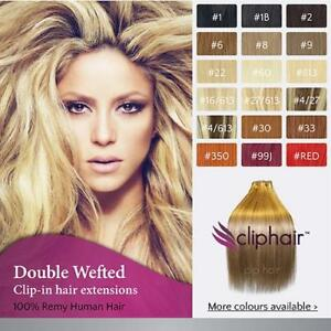 Extra-Thick-Double-Wefted-Clip-In-Remy-Human-Hair-Extensions-By-Cliphair-UK