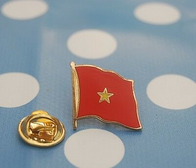 Vietnam Pin Flaggenpin Anstecker Anstecknadel Button Asien