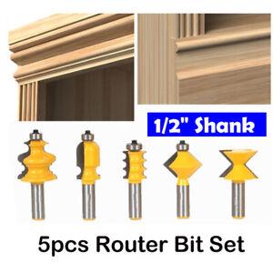 5pcs-Set-Nutfraeser-1-2-034-Schaft-Oberfraeser-Nutenfraeser-Holzfraeser-Nuter-Fraeser