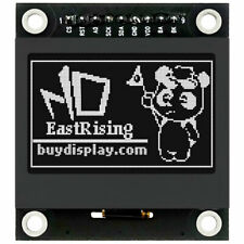 154 Inch Black 128x64 Graphic Lcd Display Module Spi For Arduino