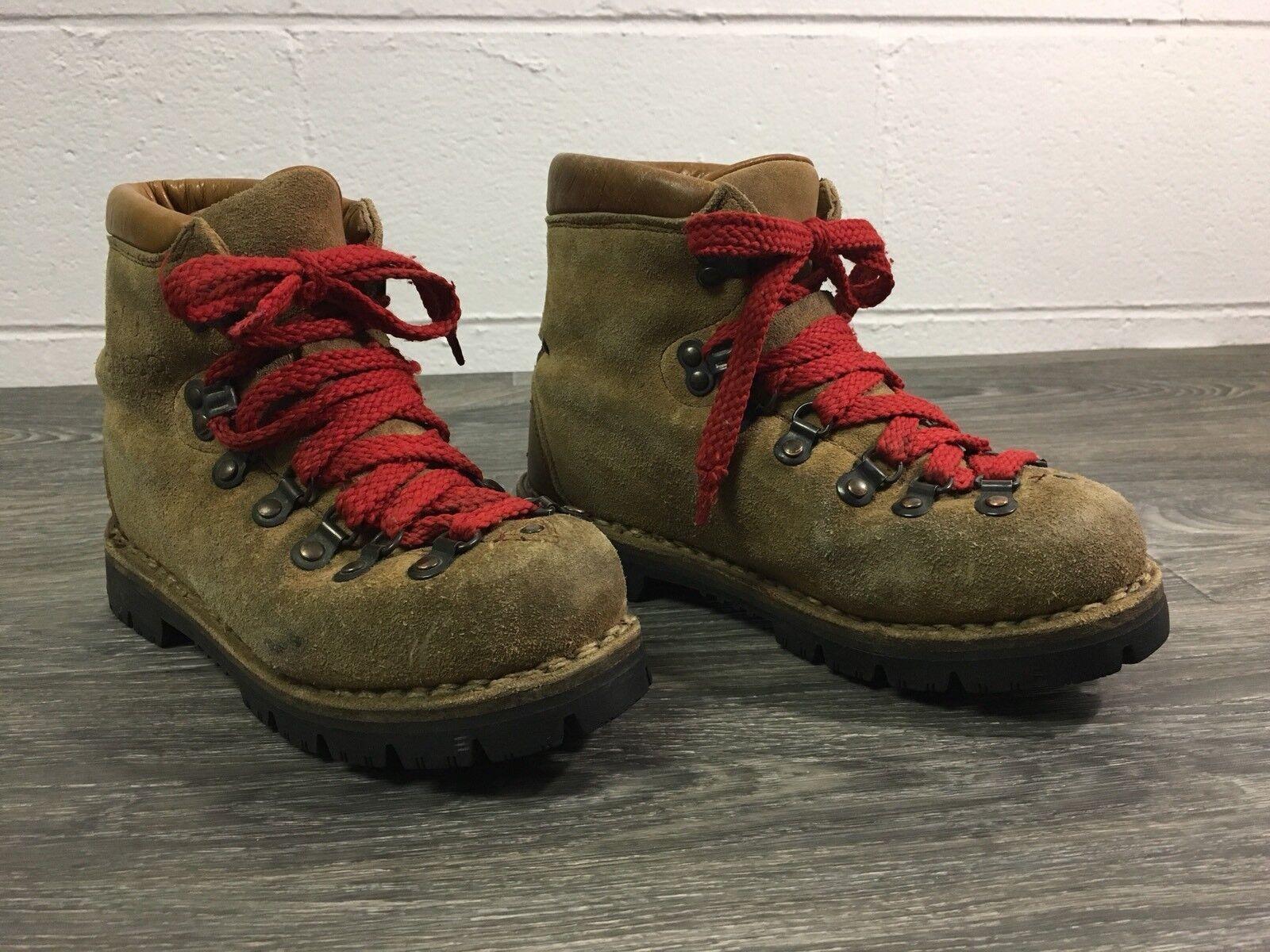 Kinney Colorado botas Senderismo De Colección Italia Cuero Suela Vibram de zapatos de montañismo 6