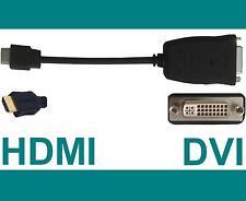 20 cm DVI-D aktiv -> HDMI Adapter Kabel HDMI männlich Stecker NEU DVI DVI cable