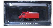 """DIE CAST """" VLF UNIMOG S 404 """" VIGILI DEL FUOCO FIRE TRUCK SCALA 1/72"""