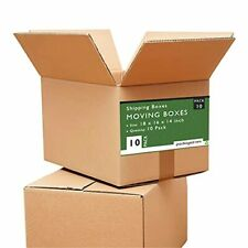 18 X 16 X 14 Large Moving Boxes Strong Shipping Boxes 10 Pack
