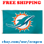 Deluxe-Miami-Dolphins-Team-Logo-Flag-Banner-3x5-ft-NFL-Football-2019-NEW thumbnail 1