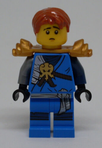 LEGO SET NINJAGO POLYBAG FIGURINE MINIFIG NINJA BLEU JAY V3 AVEC ARME