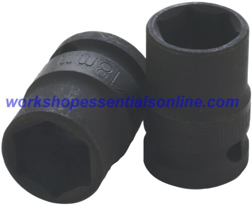 "1//2/"" Drive 14mm Standard Impact Socket 6 Point 38mm Deep Trident T930014"
