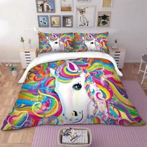 Unicorn-Bedding-Set-Twin-Full-Queen-King-Double-Duvet-Cover-Set-Kids-Bedclothes