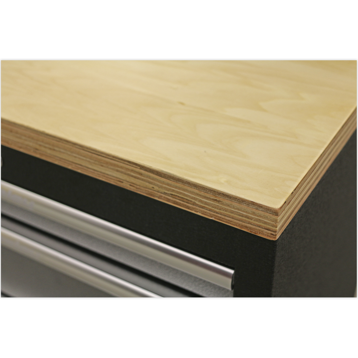 Pressed Wood Worktop 680mm   SEALEY APMS50WA by Sealey   New