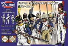 FRENCH NAPOLEONIC INFANTRY 1807-1812- VICTRIX - USED - AT LEAST 40 MODELS