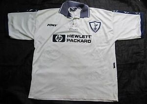 d54f13afe56134 Image is loading TOTTENHAM-HOTSPUR-home-shirt-jersey-PONY-1995-1997-