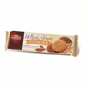 Lambertz Whole Grain Cookies Wholemeal Biscuit with whole milk chocolate 200g