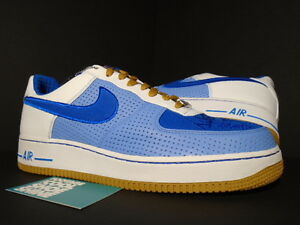 Nike Air Force 1 Premium '07 PHILLY DOWN NORTH UNIVERSITY BLUE WHITE
