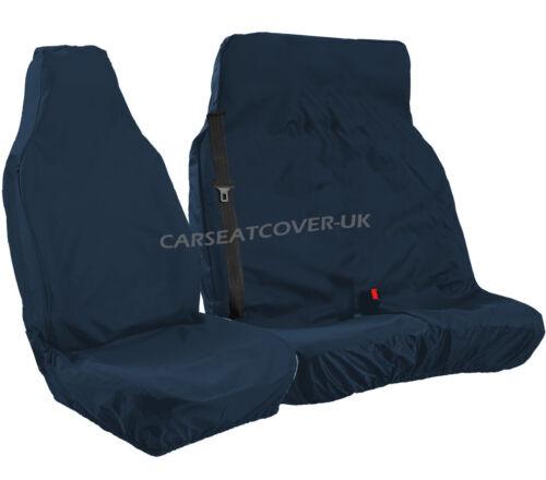 NAVY Blue HEAVY DUTY Waterproof VAN Seat COVERS 2+1 NEW CITROEN DISPATCH 16 on