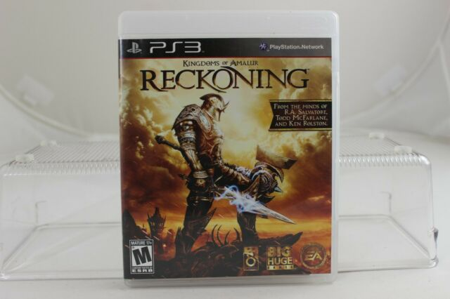 Kingdoms of Amalur Reckoning Sony PlayStation 3 Video Game PS3 Tested Complete