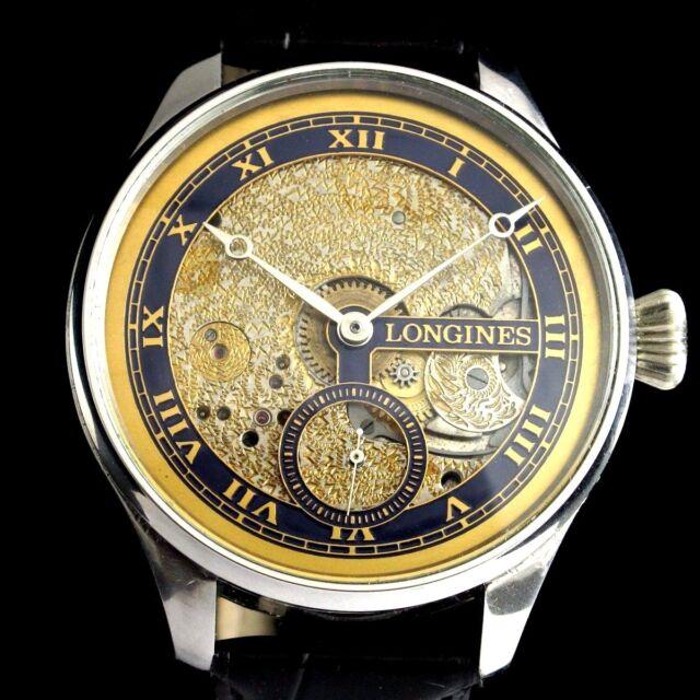 Vintage Mens Wristwatch LONGINES Stainless Steel Manual Men's Wrist Watch Swiss