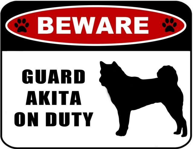 Labrador Retriever BLACK LAB  GUARD DOG ON DUTY  Steel Sign novelty warning