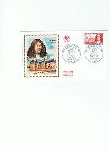 FDC-Enveloppe-Premier-Jour-Louis-Le-Vau-14-02-1970
