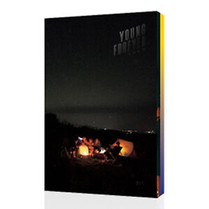 BTS-YOUNG-FOREVER-Specia-lAlbum-NIGHT-Ver-2CD-POSTER-ON-PhotoBook-Card-Sealed