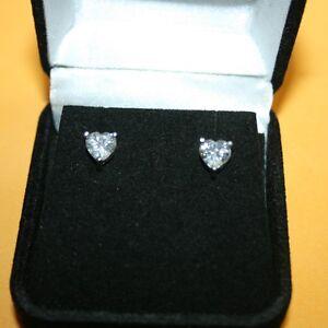 Heart-Shaped-Diamond-Alternatives-Prong-Stud-Earrings-14k-White-Gold-over-925-SS