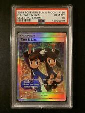 Pokemon SM Celestial Storm 166//168 Tate /& Liza Full Art
