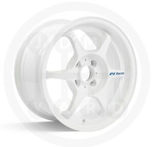 JDM-Buddyclub-15x8-SF-Racing-White-4x100-Civic-MX5-E30-Corolla-Honda-lightweight