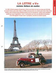 Citroen-2-CV-Charleston-Chauffeur-Paris-Tour-Eiffel-2003-Car-Auto-FICHE-FRANCE