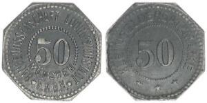 1918 München 15 Pfennig st 53571