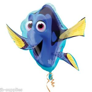 CLEARANCE  Finding Dory Shaped Supershape Foil Balloon