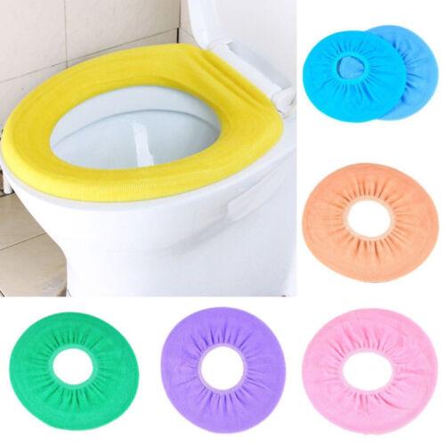 Waschbar Soft Closestool Deckel Cover Badezimmer Wärmer WC Sitztuch