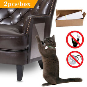 2pcs Cat Sofa Furniture Protector Guard Cat Scratch Pads Mat