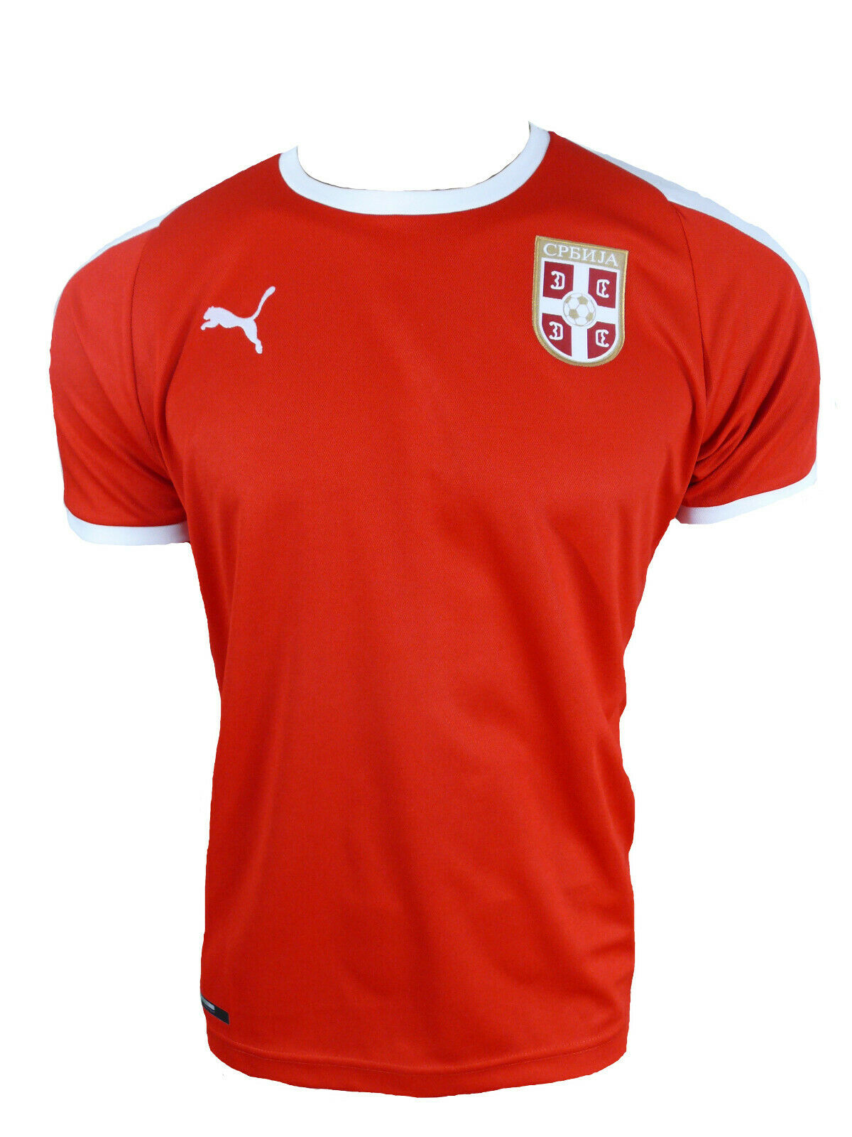 Puma Serbien Serbien Serbien Home Trikot Jersey Gr. XL 433212