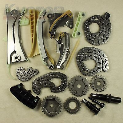 Engine Timing Chain Kit w// Gears for 1997-2009 Ford Mazda Mercury 4.0L SOHC