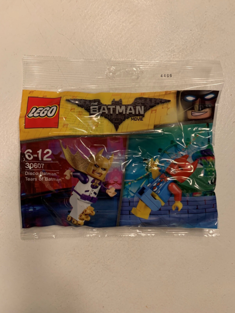 Lego Minifigures, Disco Batman  Tears of Batman 30607, Ny…