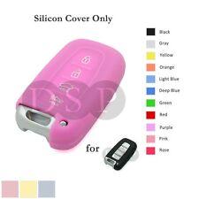 Silicone Cover fit for HYUNDAI Elantra Sonata Veloster Smart Remote Key Case PK