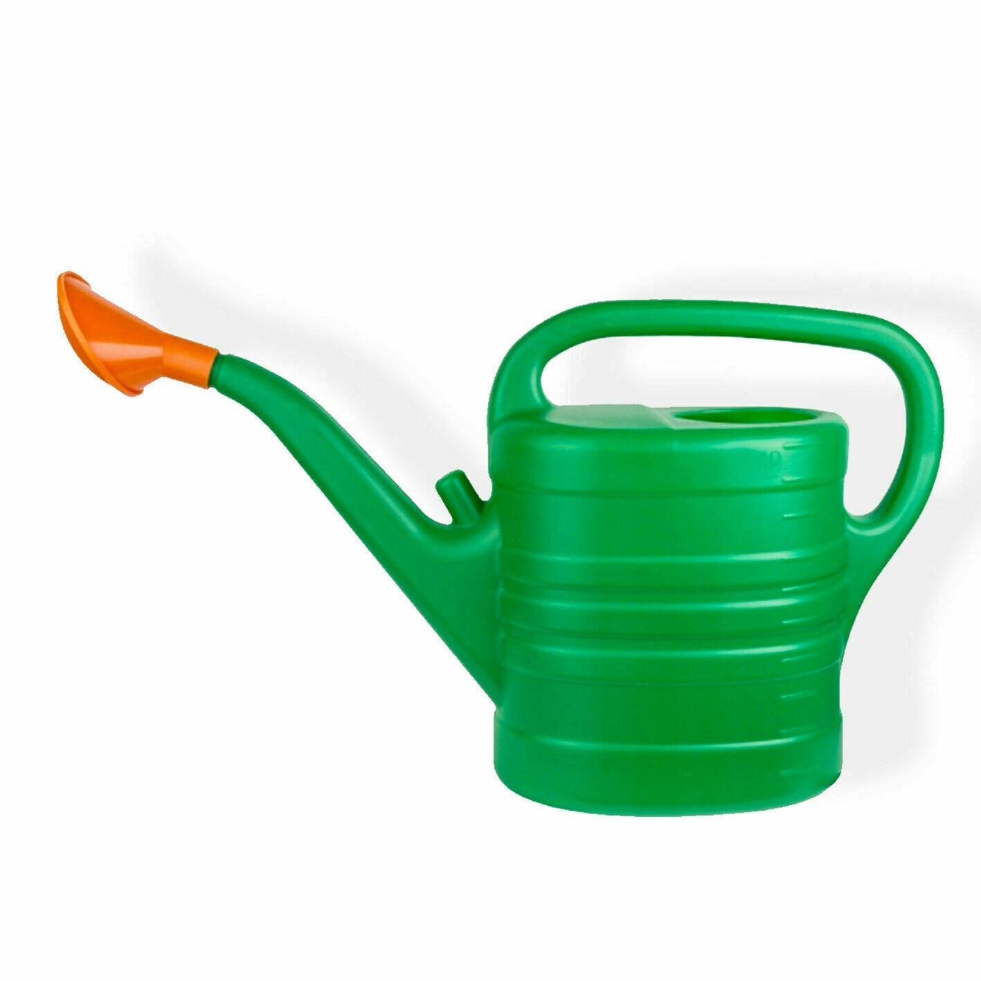 Plastic GARDEN CAN__Lightweight WATERING CAN Plants Indoor Outdoor 5L /10 Litre