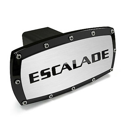Cadillac Engraved Billet Aluminum Tow Hitch Cover