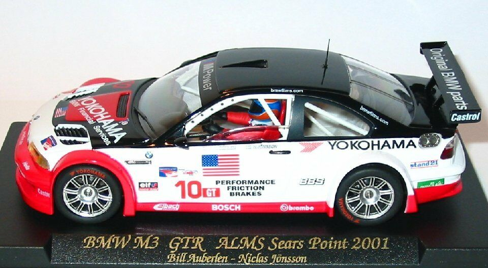 FLY Ref. 99001 A282L BMW M3 GTR - ALMS Sears Point 2001 with lights NEW