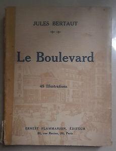 Le Boulevard Bertaut 1924 Complet Dans Les SpéCifications
