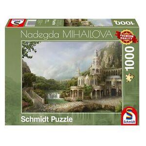Schmidt-Jeux-nadegda-michailova-Palais-dans-les-montagnes-1000-pieces-Steckpuzzle