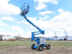 Genie Z-45/22 45' Articulating Boom Lift Man Aerial Platform bidadoo -Repair