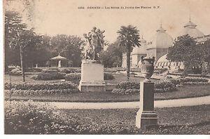 Détails sur CPA RENNES LES SERRES DU JARDIN DES PLANTES G.F.