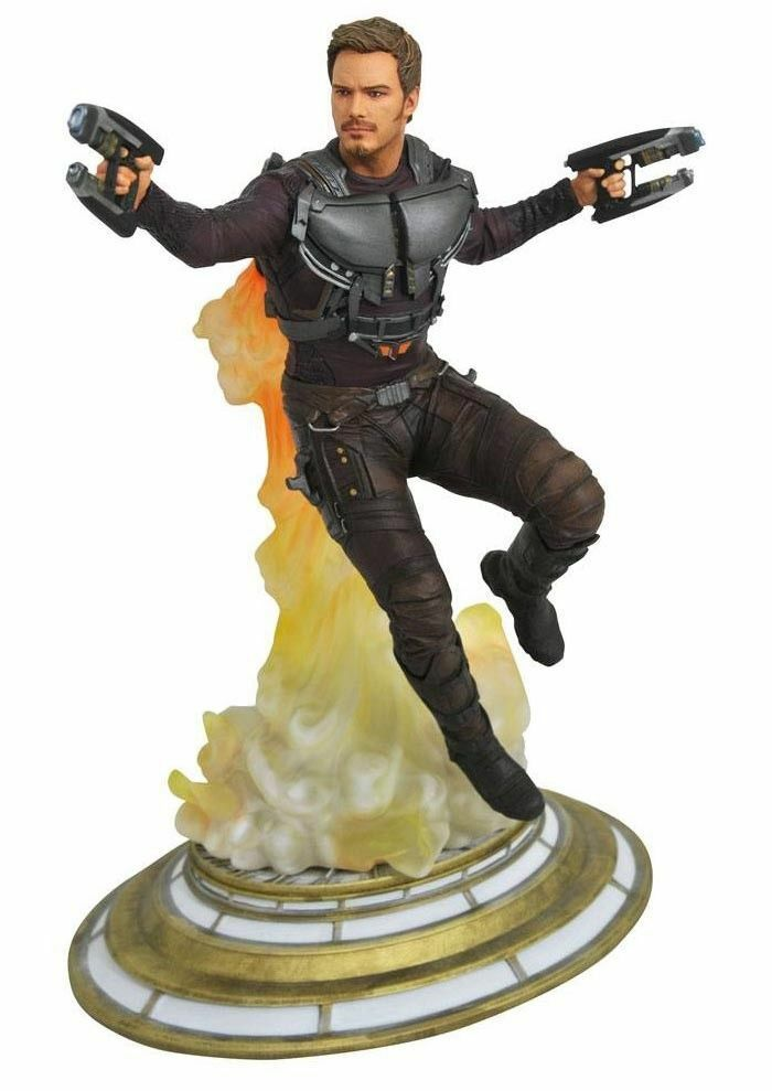 MARVEL Galleria Figura in PVC Star-Lord Guardiani della Galassia