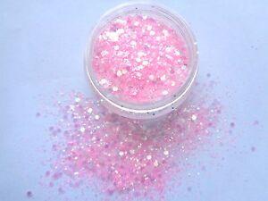 Image Is Loading 3g Pot Nsi Pre Mixed Glitter Acrylic Powder