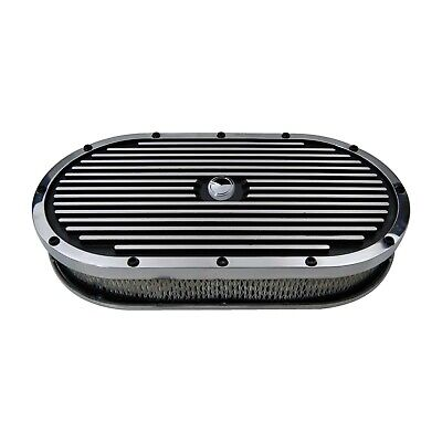 "FORD RACING M-9600-K302 Air Cleaner 21 1//16/"" L x 10/"" W Oval White Paper Element"