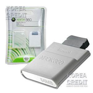 Genuine Microsoft XBOX 360 64MB Memory Card Unit [64MB] | eBay